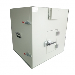 JC-PB2352手动侧开门屏蔽隔音箱 0.6x0.6x0.6